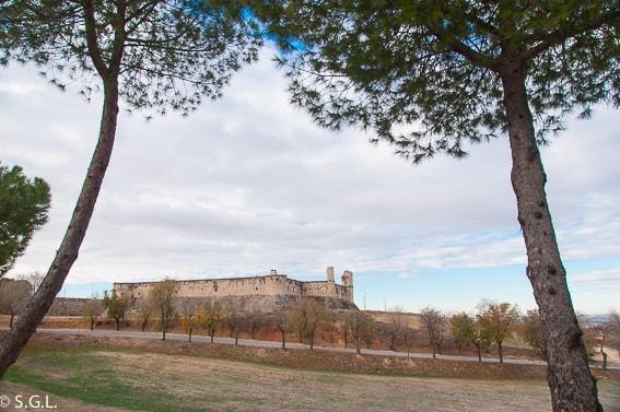 Castillo de los condes en Chinchon. Un dia en Chinchon