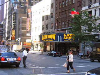 The Ed Sullivan Theater on Broadway.