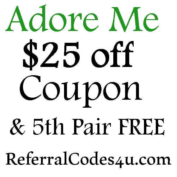 Adore Me VIP Promo Code 2016-2017, $25 off Adore Me FREE Set, Adore Me Coupon June, July, August
