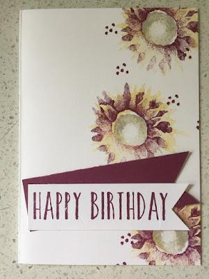 Techniques class- borders happy birthday