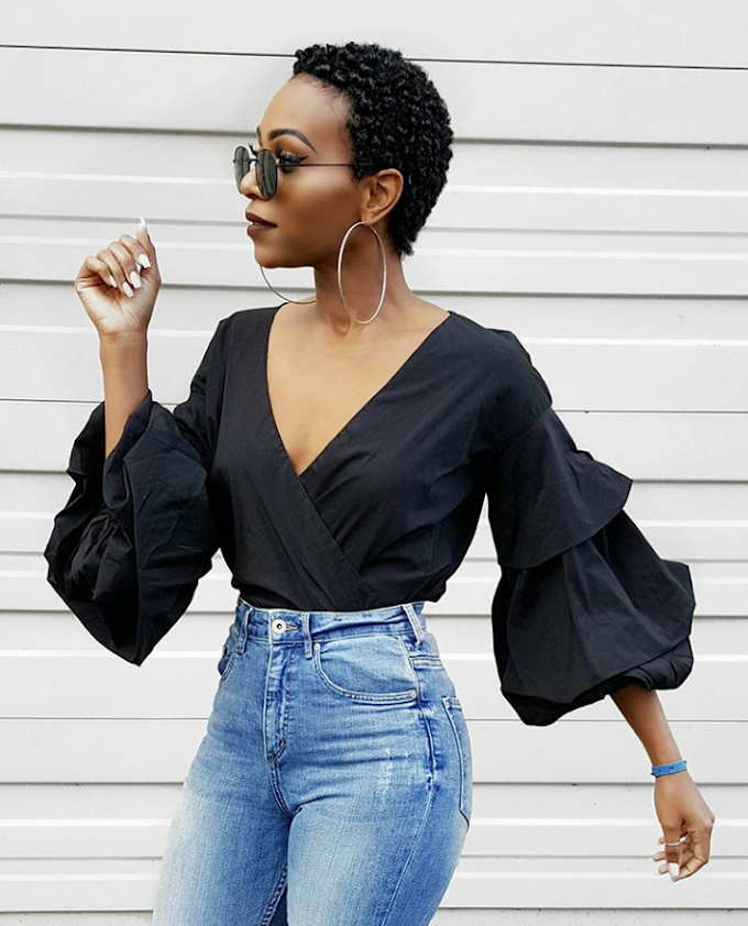 This Stylish Mother Of 4, Is Too Much Sauce And Style Goals!