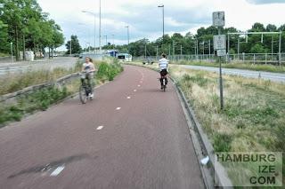 Nijmegen, Schnellradweg