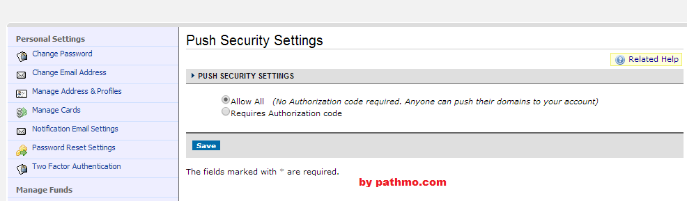 Cara Push/Pindah Domain Ke User Lain Di Namecheap