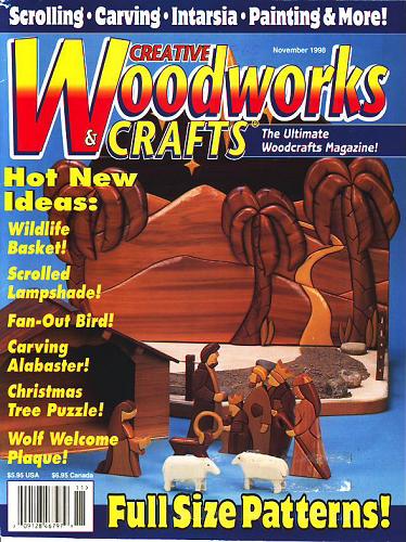 Creative,Woodworks,Crafts,November,1998