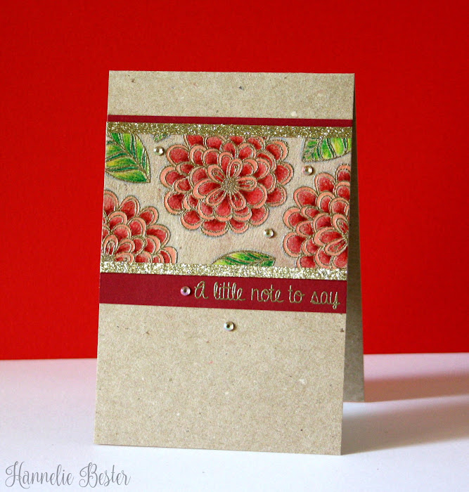 Pretty Posies from Casual Friday stamps
