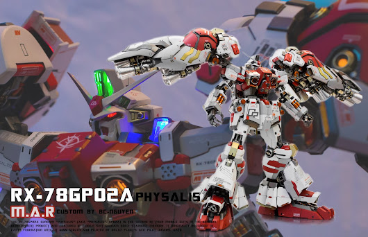 "1/60 RX-78 GP02A Gundam ""Physalis"" Custom by BCNguyen [Bj]"