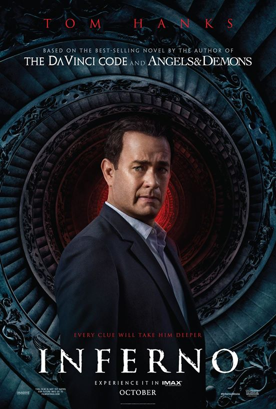 Tom Hanks Returns As Robert Langdon In New Inferno Teaser Trailers