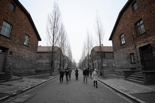 Blocchi-Campo di concentramento di Auschwitz