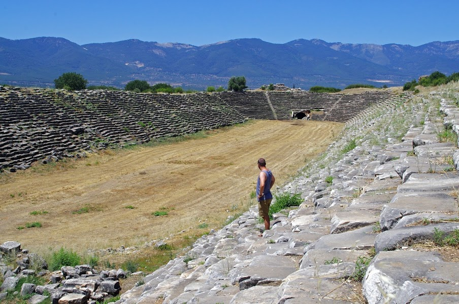 Aphrodisias Stadium Turkey