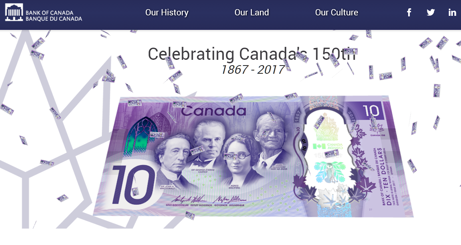 Ο κωδικός Konami θα βρίσκεται στο νέο $10 του Καναδά 2