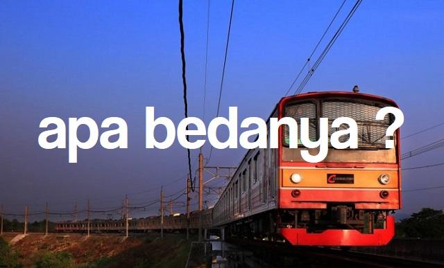 Perbedaan MRT, LRT, Dan KRL Wajib Tahu Sebagai Rakyat Indonesia