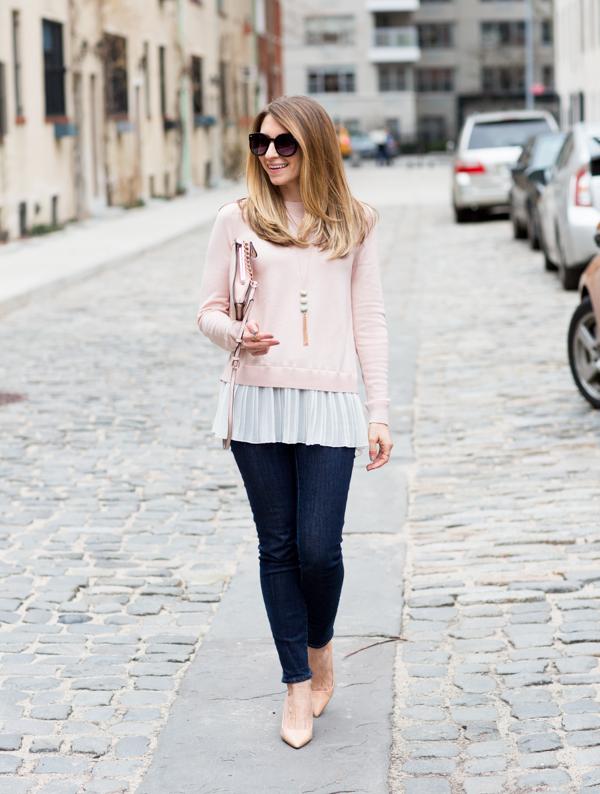 13e8de0ec1 DRESSED by Jess  Blush + Skinny Jeans