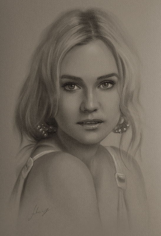 07-Diane-Kruger-krzysztof20d-Portrait-Drawings-with-a-few-Celebrities-www-designstack-co