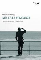 """Portada del libro """"Mía es la venganza"""", de Friedrich Torberg"""