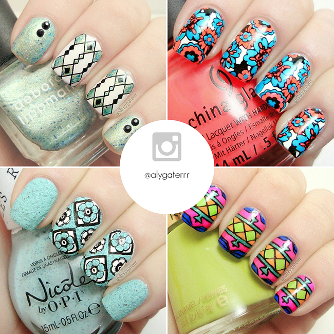 Instagram Nail Art Designs