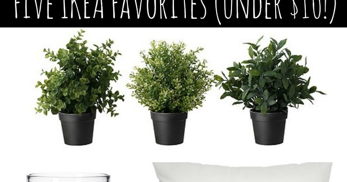 Five Ikea Favorites For Under 10 From Thrifty Decor Chick