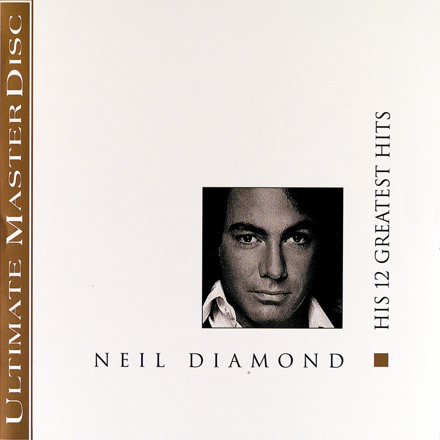 cD Neil Diamond- His 12 Greatest Hits (Album Cover