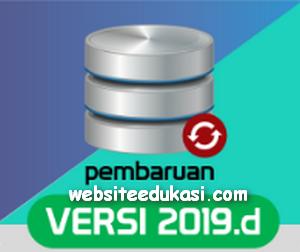 Aplikasi Dapodikdasmen Versi 2019.d