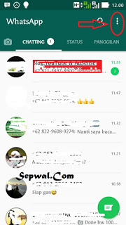 Cara agar terlihat Offline pada saat anda online di WhatsAp