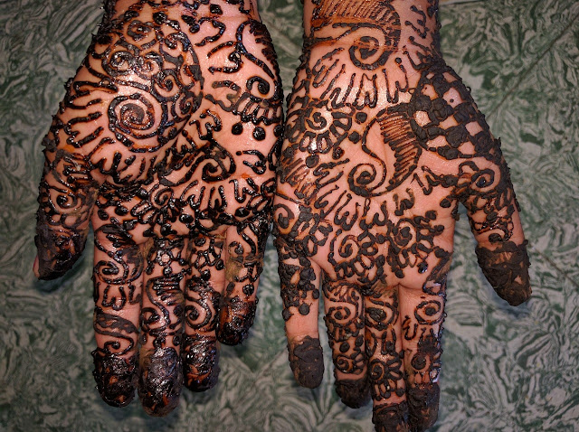 Mehndi Design for both hand
