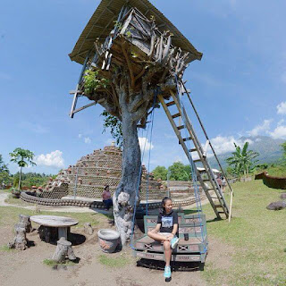 Rumah Pohon Desa Batu Dawa, Karangasem
