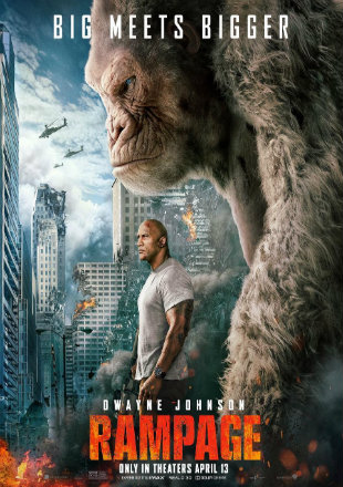 Rampage 2018 Full Dual Audio Hindi Movie Download HDCAM