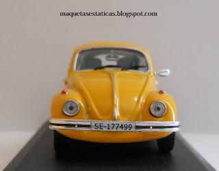 maqueta del volkswagen 1300 escarabajo
