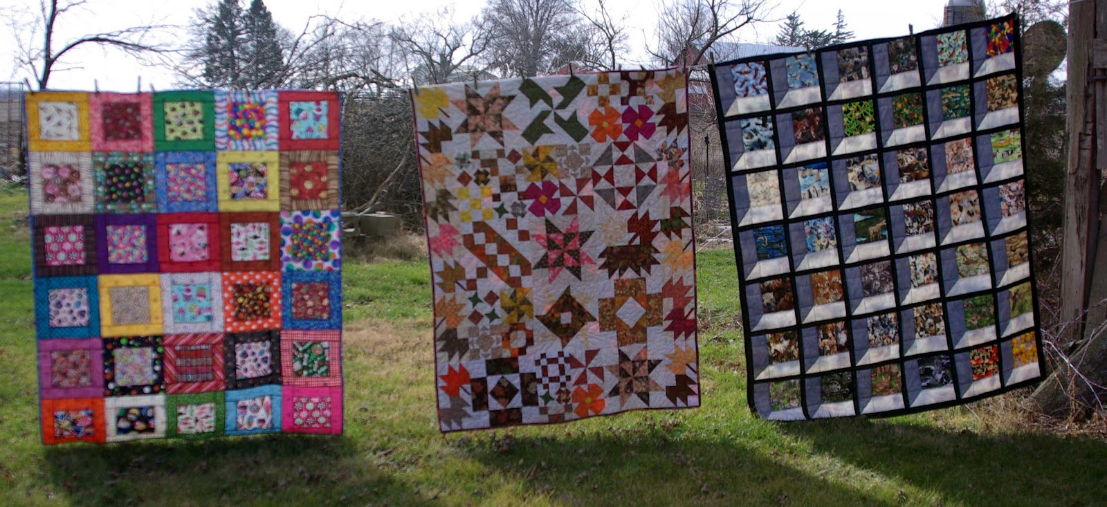 Sane, Crazy, Crumby Quilting: Three Christmas Gifts