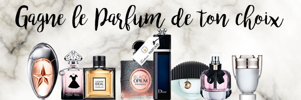 #Concours • Gagne ton Parfum avec Tendance Parfums !