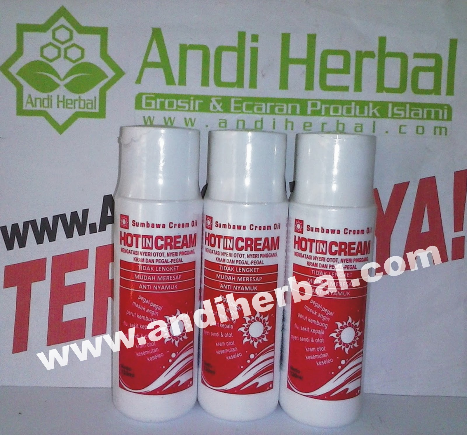 Hot In Cream Sumbawa Cream Oil 120 ml Andiherbal.com