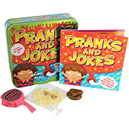 pranks and jokes tin