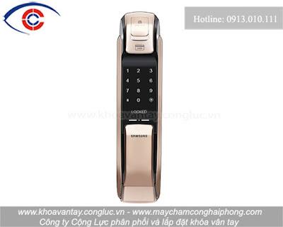 Khóa cửa vân tay Samsung SHP-DP920.
