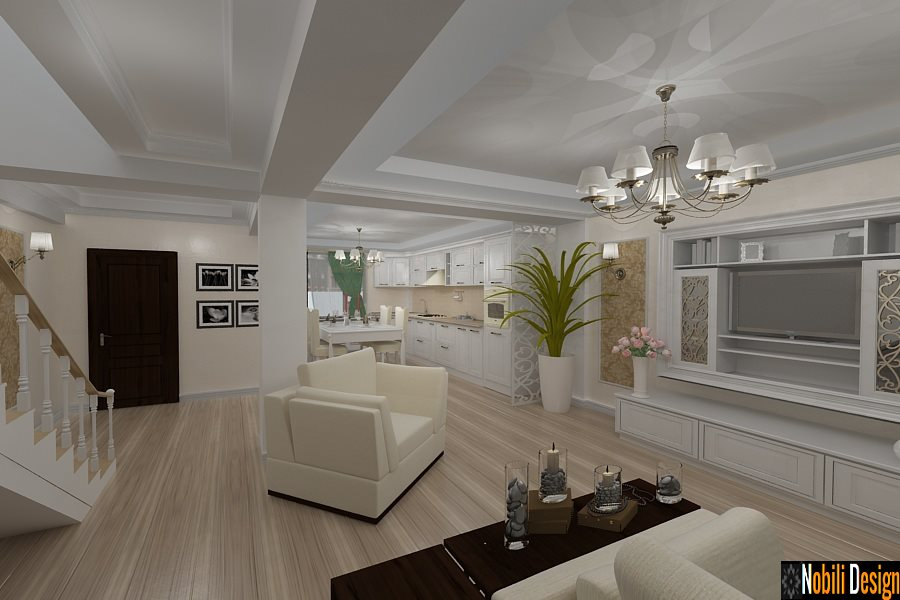 Design interior casa clasica de lux Constanta - Arhitect interior Constanta.