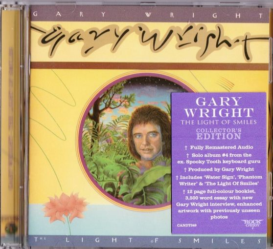 GARY WRIGHT - The Light Of Smiles [Rock Candy Remaster] (2017) full