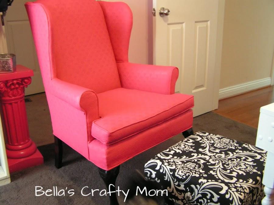 Tutorial c mo pintar el tapizado de un sill n bricolaje for Sillones individuales modernos