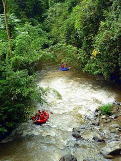 Visitindonesia; Rafting At Ayung River, Taste The Sensation Spell Enjoying Exotic Scenery Inwards Bali