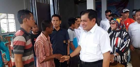Nurdin Halid Dukung Patahuddin Maju di Pilbup Luwu 2018