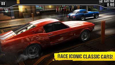 CSR Classics Apk (MOD, unlimited money) + Data OBB Download