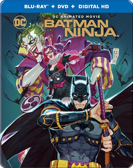 Batman Ninja (2018) 720p y 1080p BDRip mkv Dual Audio AC3 5.1 ch