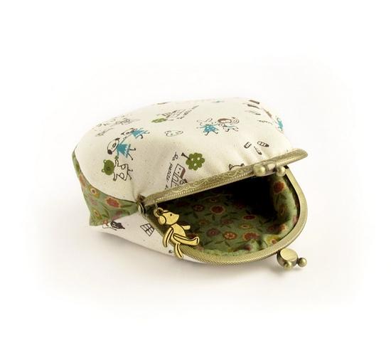 кошелек, Animal purses