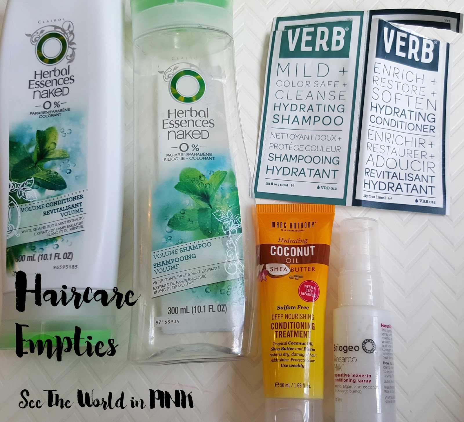 August 2016 - Monthly Empties