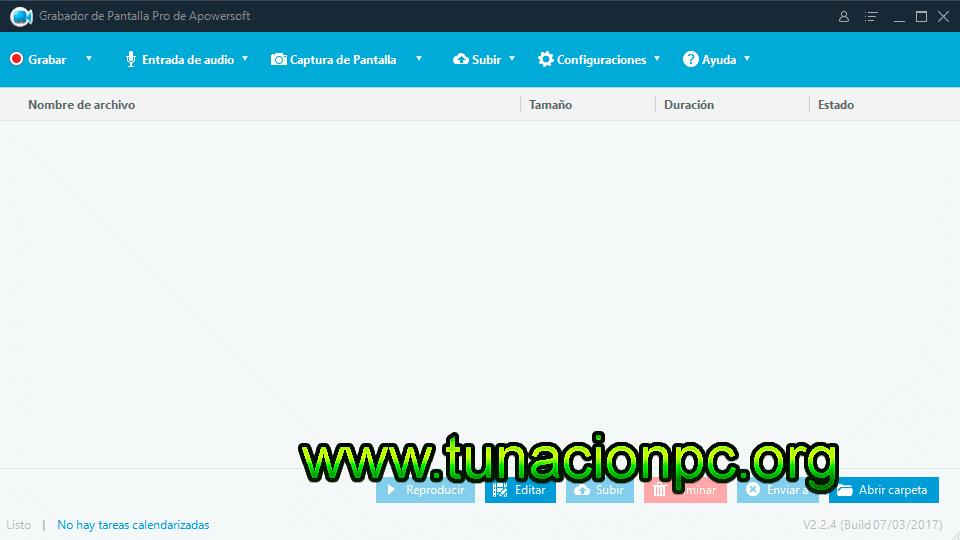 Apowersoft Screen Recorder Pro, Graba la Pantalla de tu Ordenador