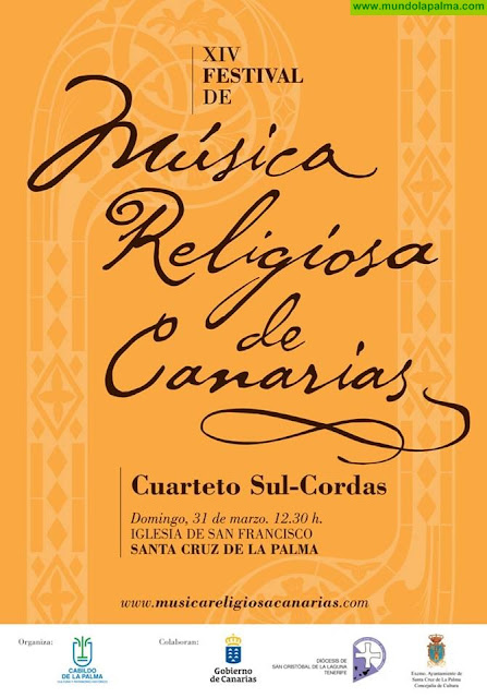 XIV Festival de Música Religiosa de Canarias en Santa Cruz de La Palma