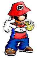 Resultado de imagen de dibujo rap hip hop
