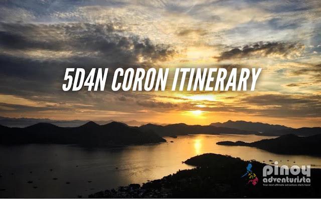 SAMPLE CORON ITINERARY PALAWAN TRAVEL GUIDE BLOG