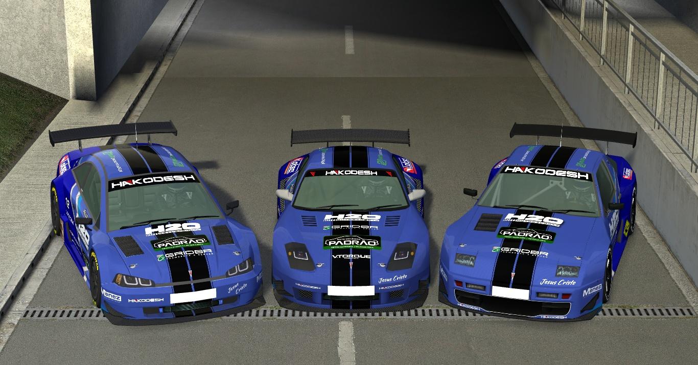 Carros da H2O prontos para o 'GTR Challenge' Lfs_00001097