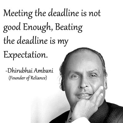 Dhirubhai Ambani | Inspirational Quote