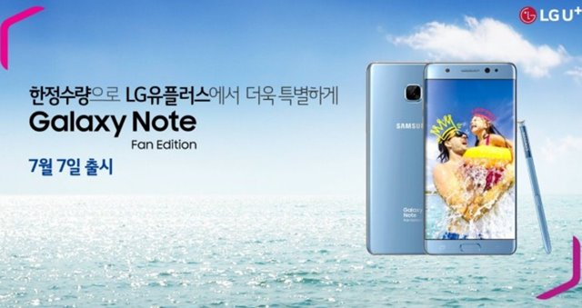 Samsung Galaxy Note FE-Facebook