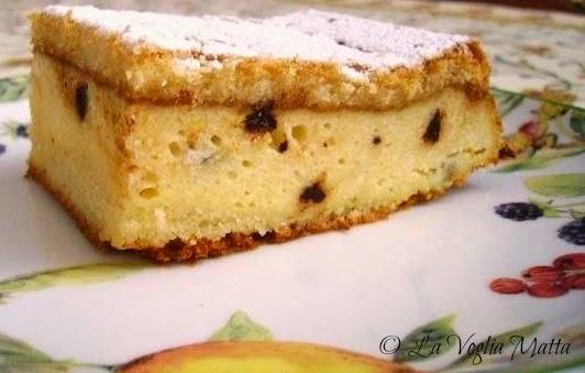 ricetta dolce di semolino ricotta e gocce di cioccolato