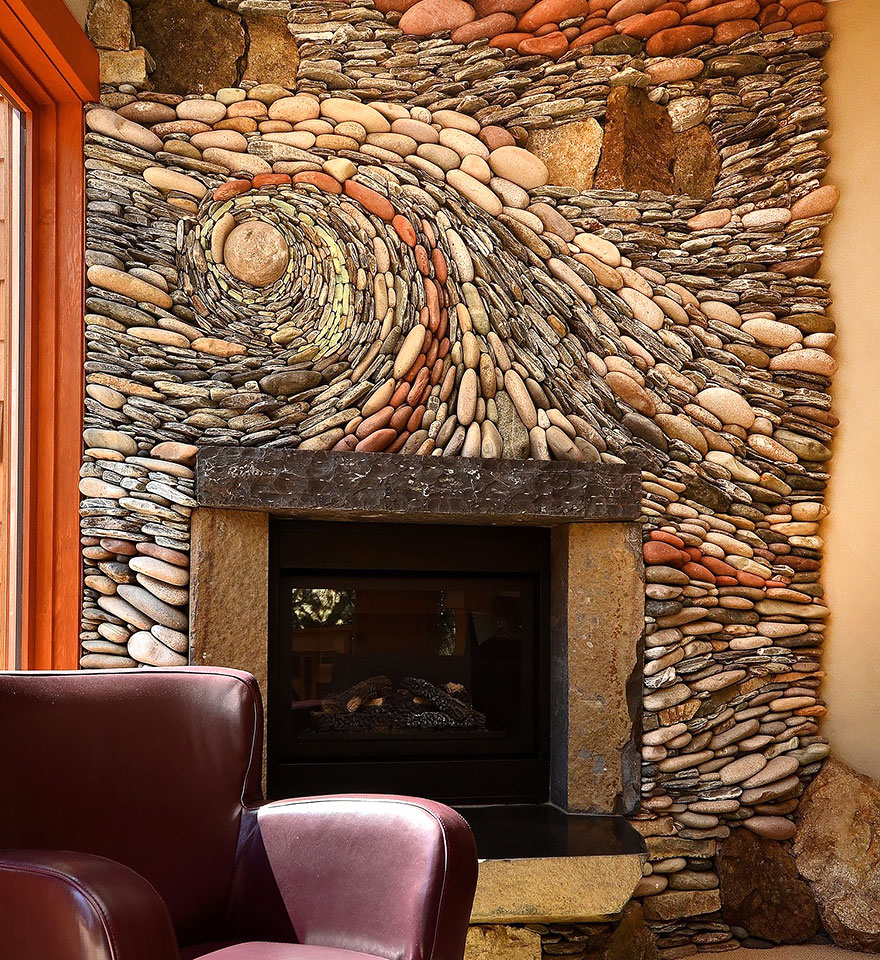 Beautiful Rock Wall Art